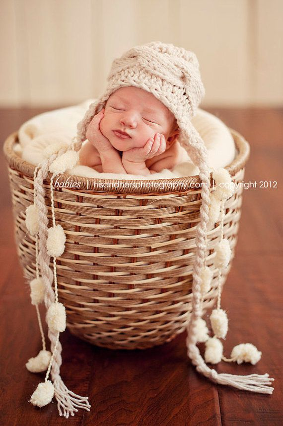 I am going to have to get some wicker baskets if I ever a baby shoot.