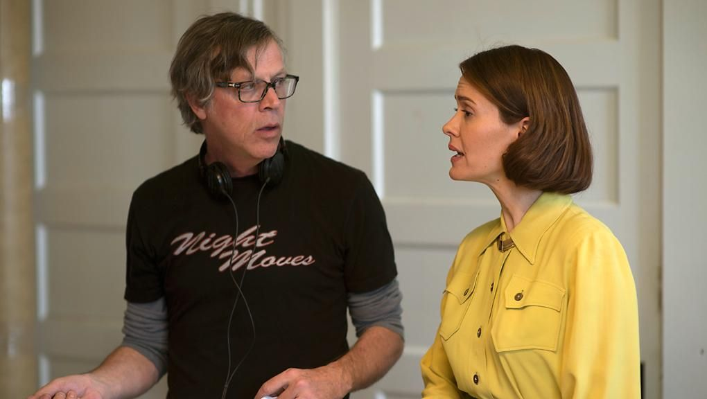 sarah #paulson plays #abby - in #Carol movie (2015) here with director Todd #Haynes