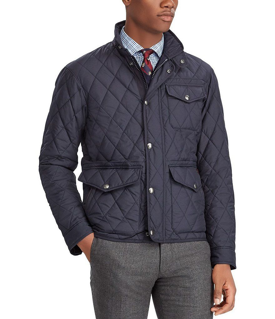 Polo Ralph Lauren Quilted Jacket Quilted Jacket Men Quilted Jacket Mens Jackets