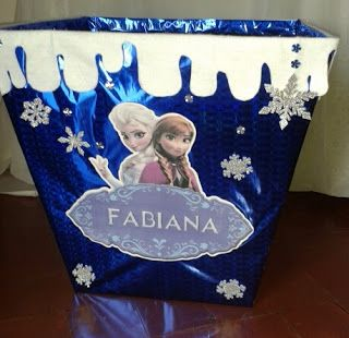 iri artus caja para regalos frozen
