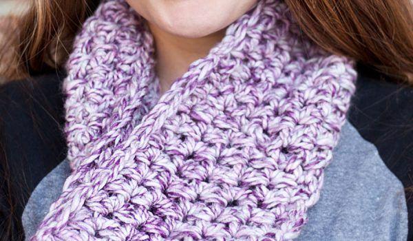 Crochet Chained Ear Warmer Pattern by Rescued Paw Designs