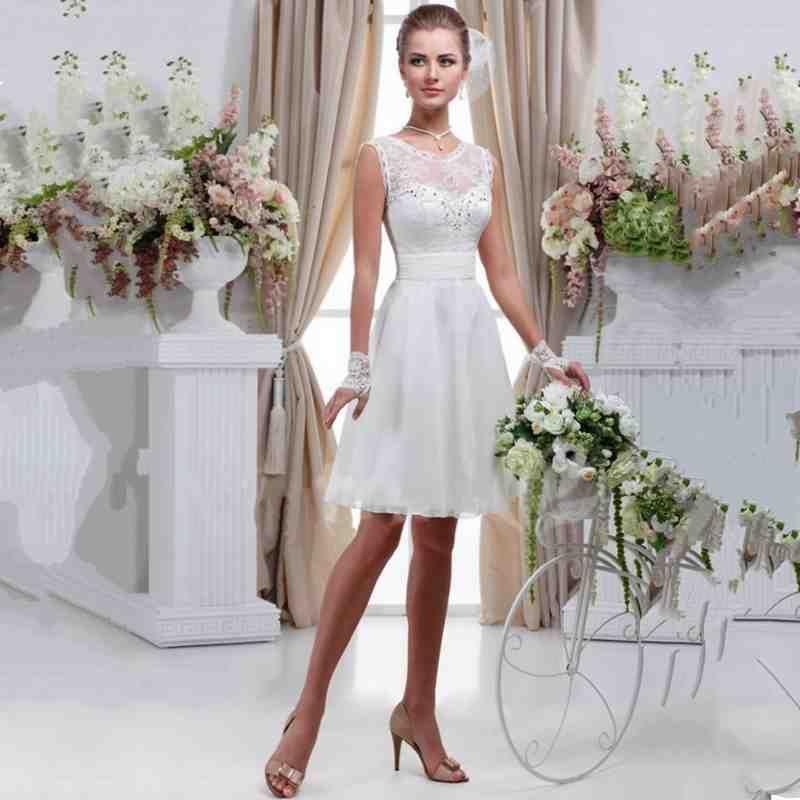 Simple Short Lace Wedding Dress Short Wedding Dress Short Lace Wedding Dress Short White Dress Wedding