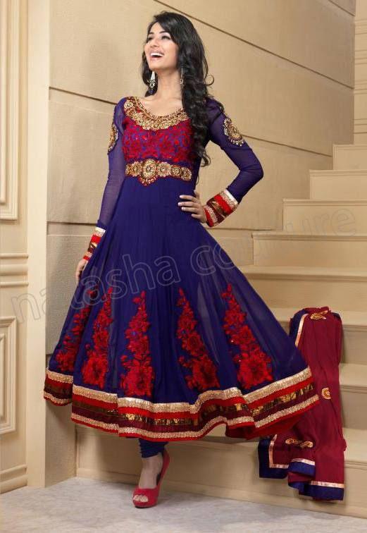 Indian Anarkali Dresses   Indian Cute Girls Fashion for Anarkali ...