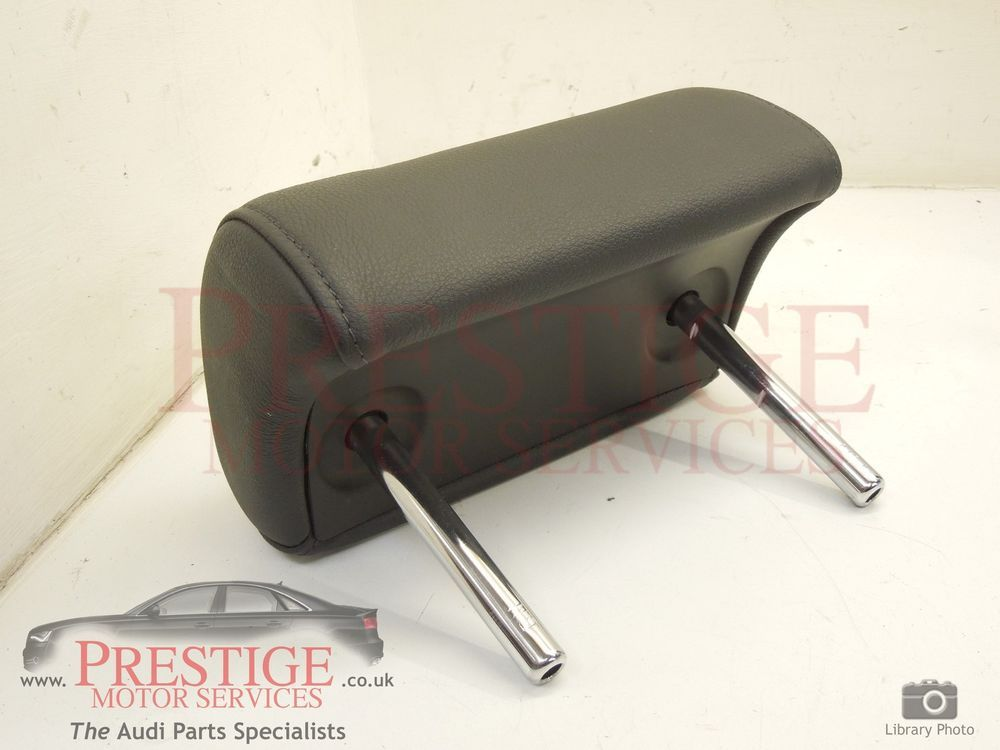 Audi A6 C6 Centre Rear Black Leather Head Rest In Vehicle Parts Accessories Car Parts Interior Parts Furnishings Ebay