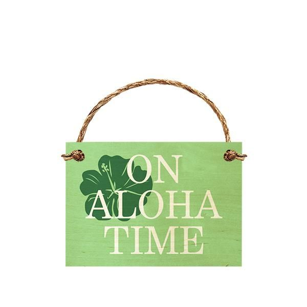 On Aloha Time (Hibiscus) 7x10 ISL