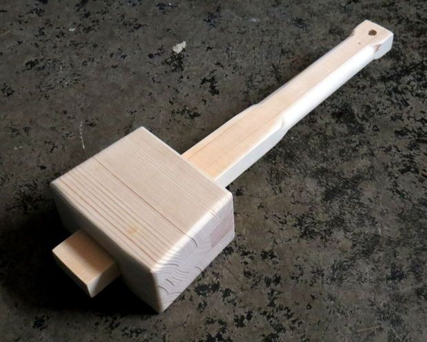 Picture of Easy wooden mallet