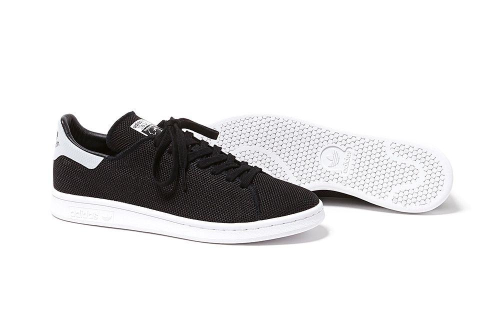 adidas originals stan smith black and white