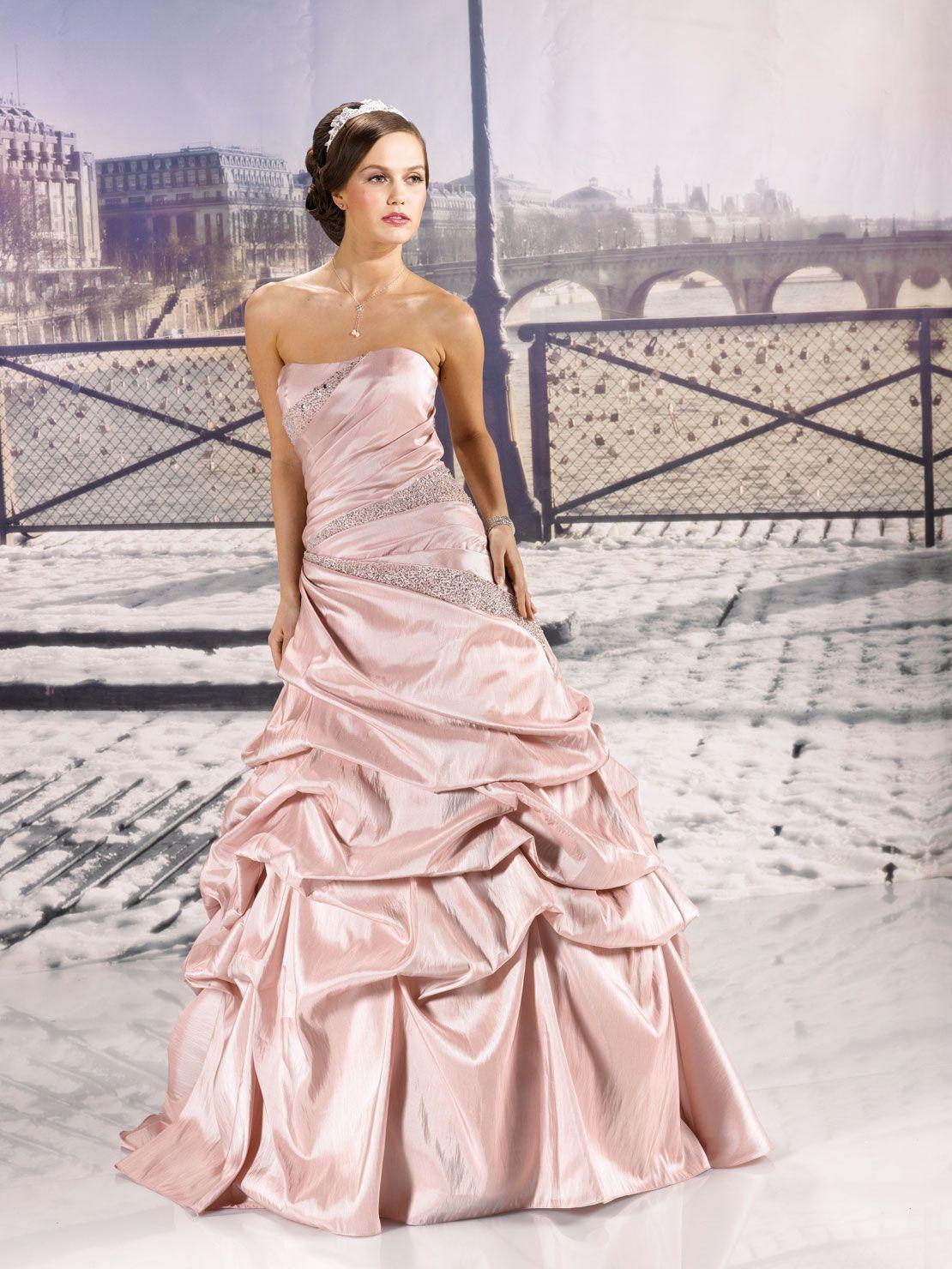 Miss Paris Collection 2013 Wedding dresses, Pink