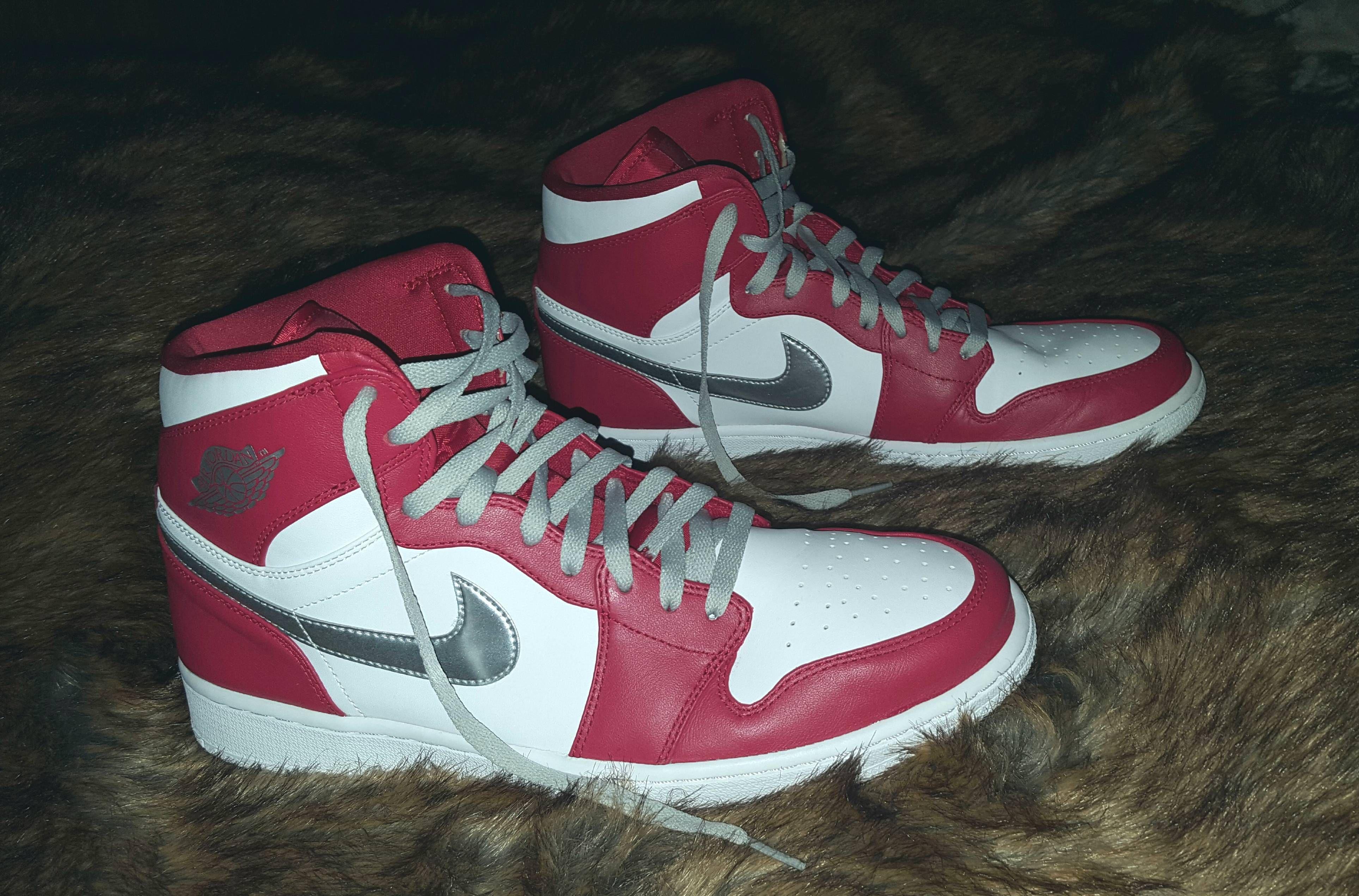 Silver 1 Jordan Medal SwapNike Lace Sneakers dxCBoe