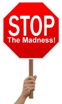 """Image result for stop the madness"""""""