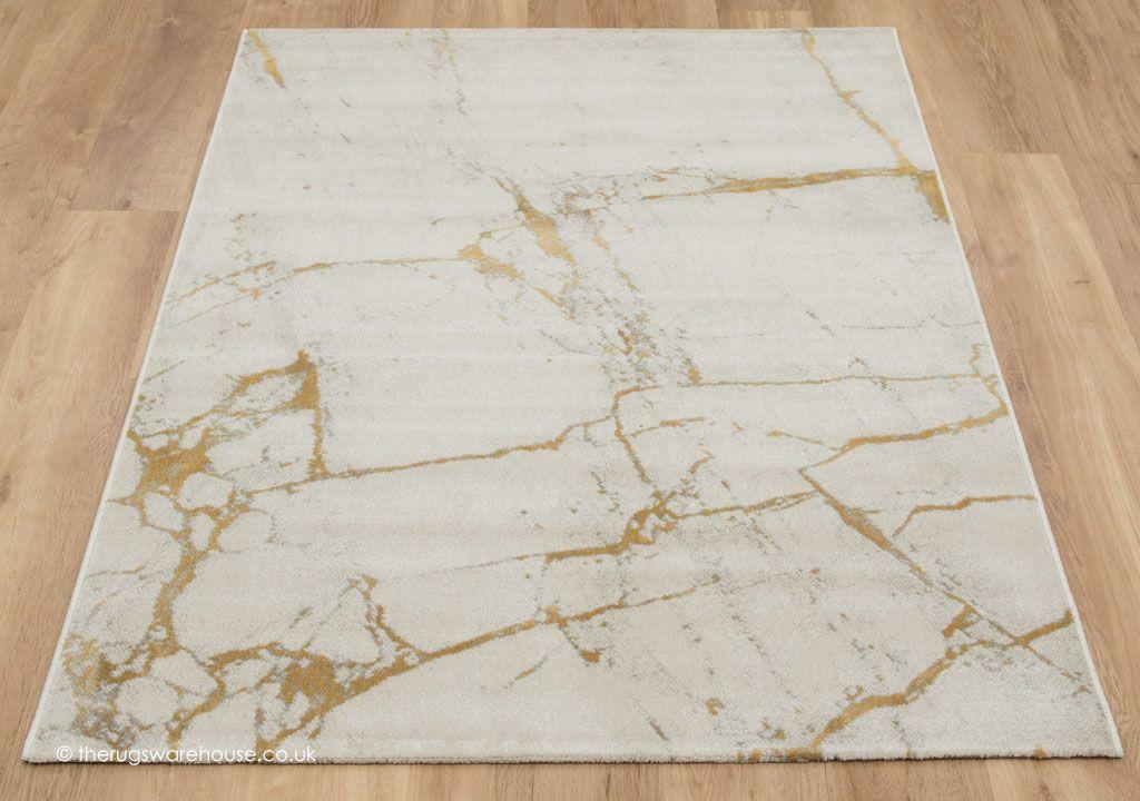 Modane cream gold rug gold rug modern rugs rugs - Gold rug for living room ...