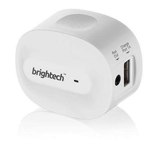 cool Brightech - BrightPlay Home HDTM Bluetooth 4.0 Music Receiver / Adapter with apt-X Technology for CD Quality Sound - Adds Bluetooth Functionality to Non-Bluetooth Sound Systems. Stream Music with Startling Clarity from your Mobile Device to Speakers and Stereos - Connect 2 Devices Simultaneously and Have A DJ Battle with a Friend! - White Color  Sound that even impresses audiophiles  The BrightPlay Home HD delivers an infinitely clearer sound quality than the majority of portable…