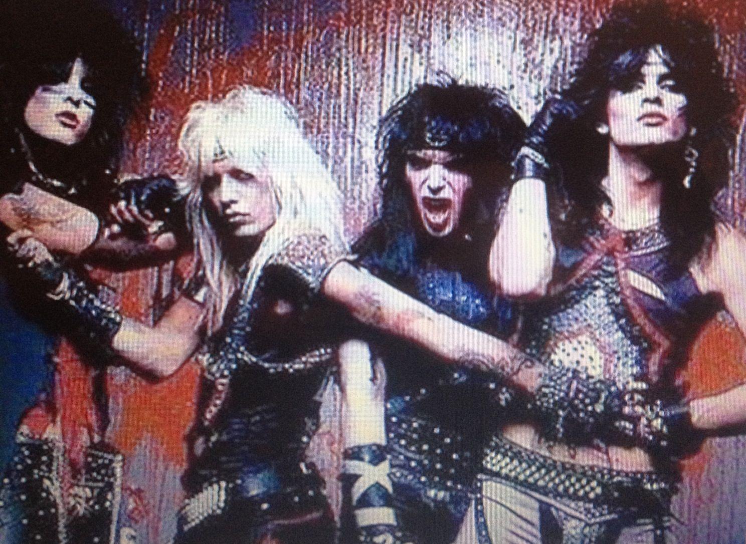 Metal Music 1980s Mtley Cre