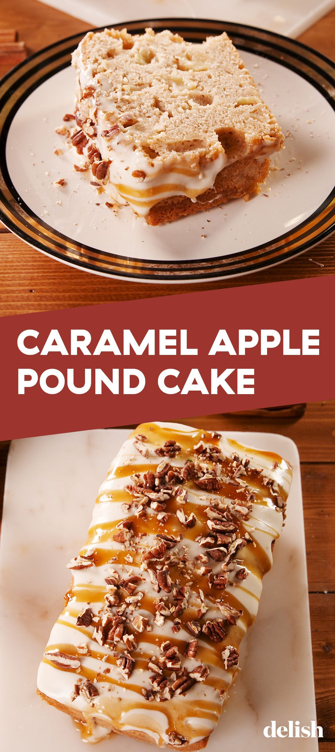 Caramel Apple Pound Cake Needs To Be At Your Thanksgiving