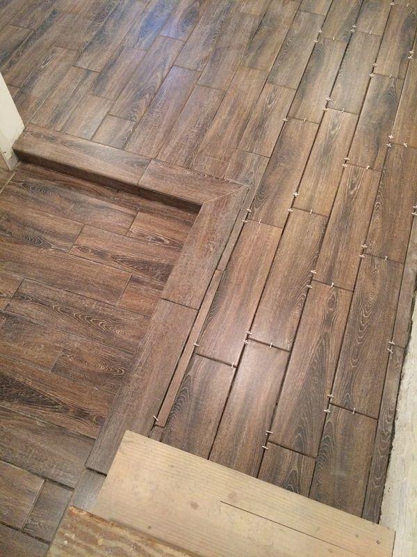 Beautiful And Durable Basement Flooring Ceramic Wood Tiles Build