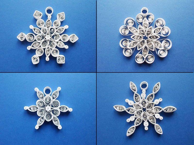 Fiocchi Di Neve Di Carta Fai Da Te : Fiocchi di neve di carta per natale lavoretti di natale fiocchi