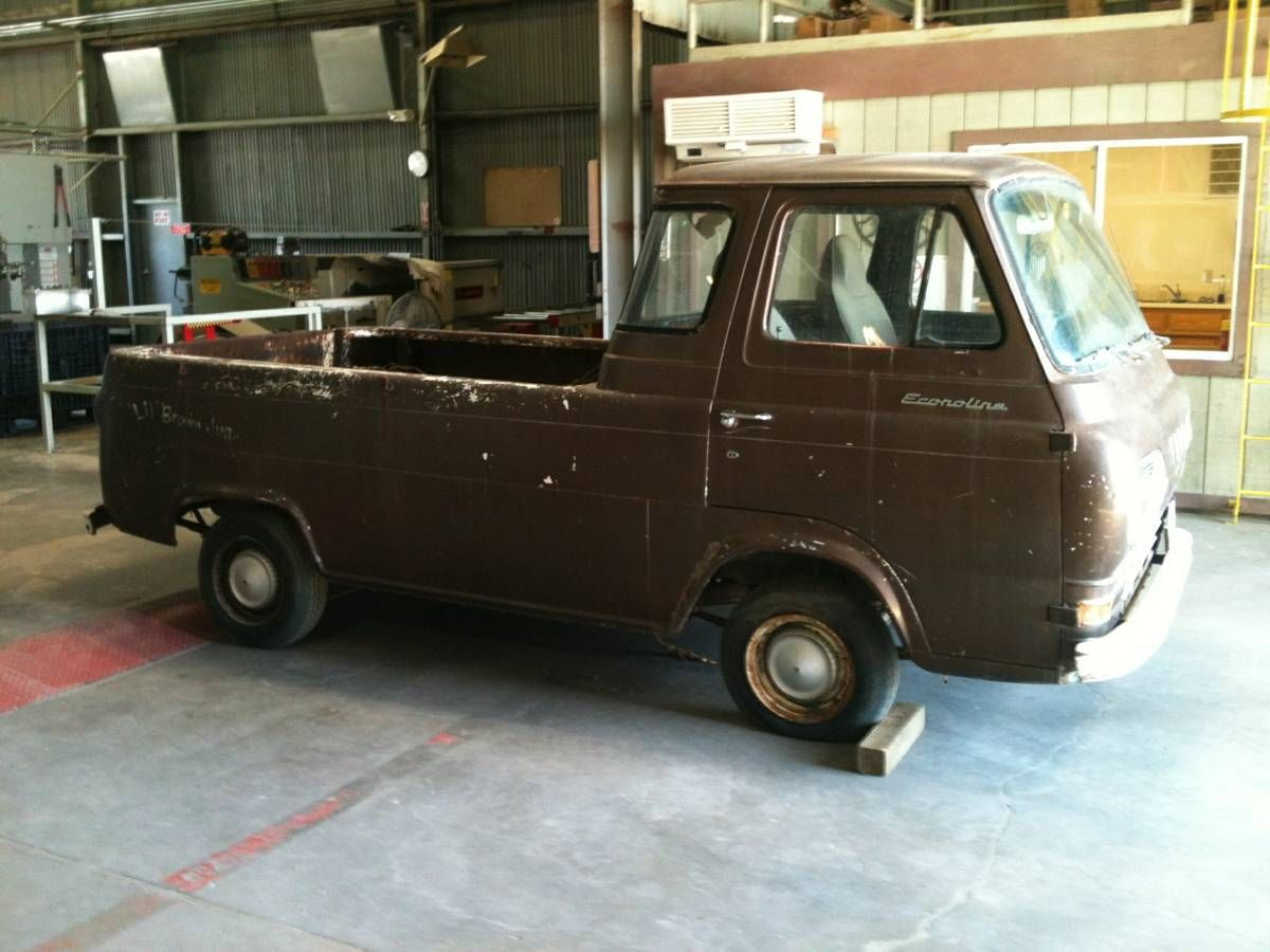 1962 All Original Truck In Visalia Ca With Images Ford Van
