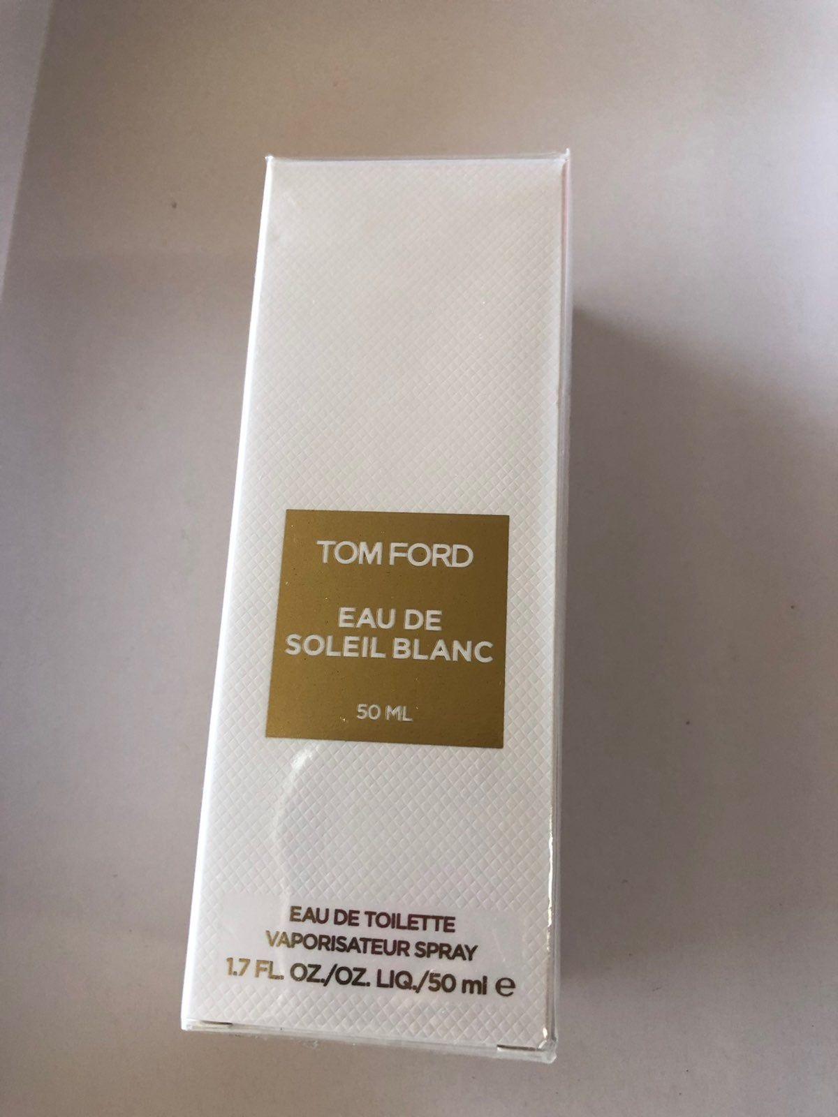Tom Ford Eau De Soleil Blanc 1 7oz Brand New In Box Still Sealed