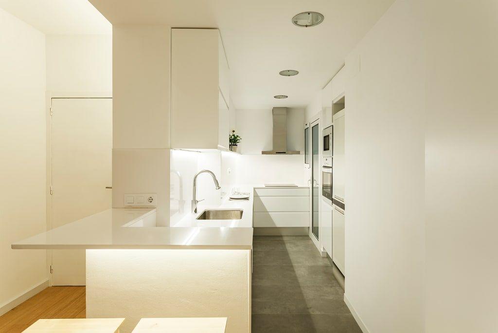 Reforma cocina en vivienda de sezam disseny dinteriors sl moderno cerámico