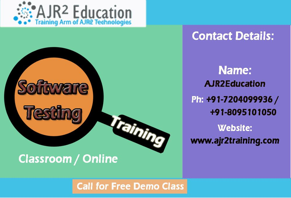 Software Testing Training  Manual And Automation  Software