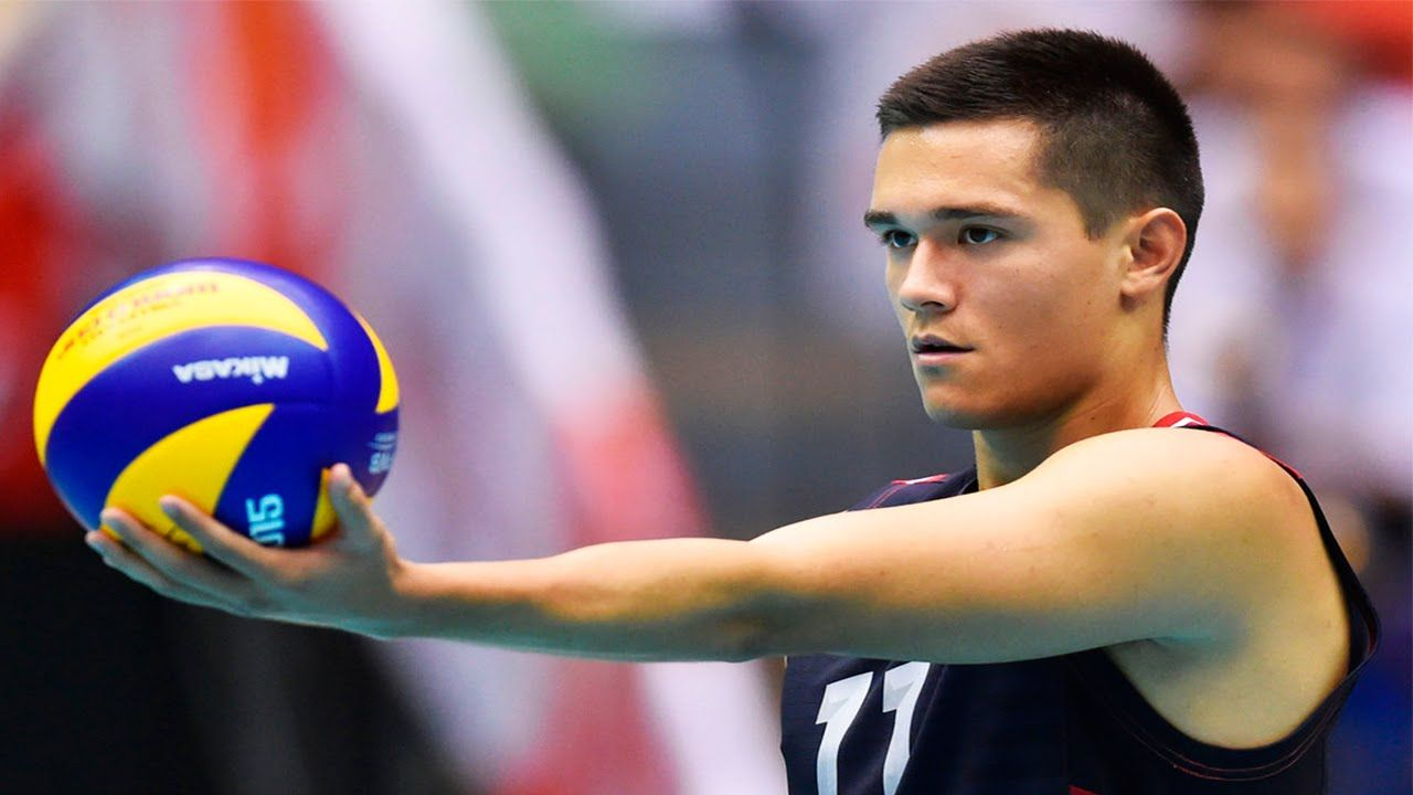 Awesome Micah Christenson Usa Volleyball Team Usa Volleyball Micah