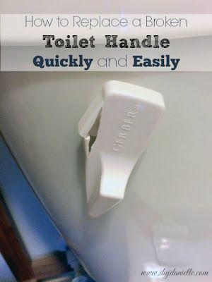 How To Fix A Toilet Handle Bathroom Repair Home Repair Toilet