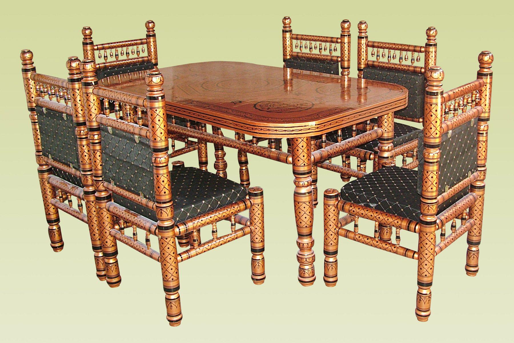 punjabi dining table furniture design ideas - Furniture Dining Table