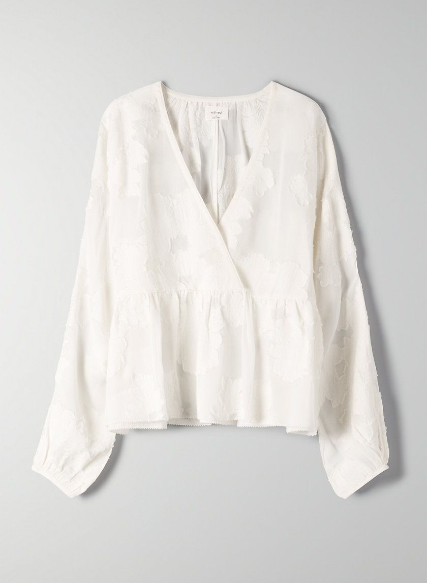 a1280d71a8a0b0 Augustine blouse in 2019   Style   Blouse, Aritzia dress, Ruffle blouse
