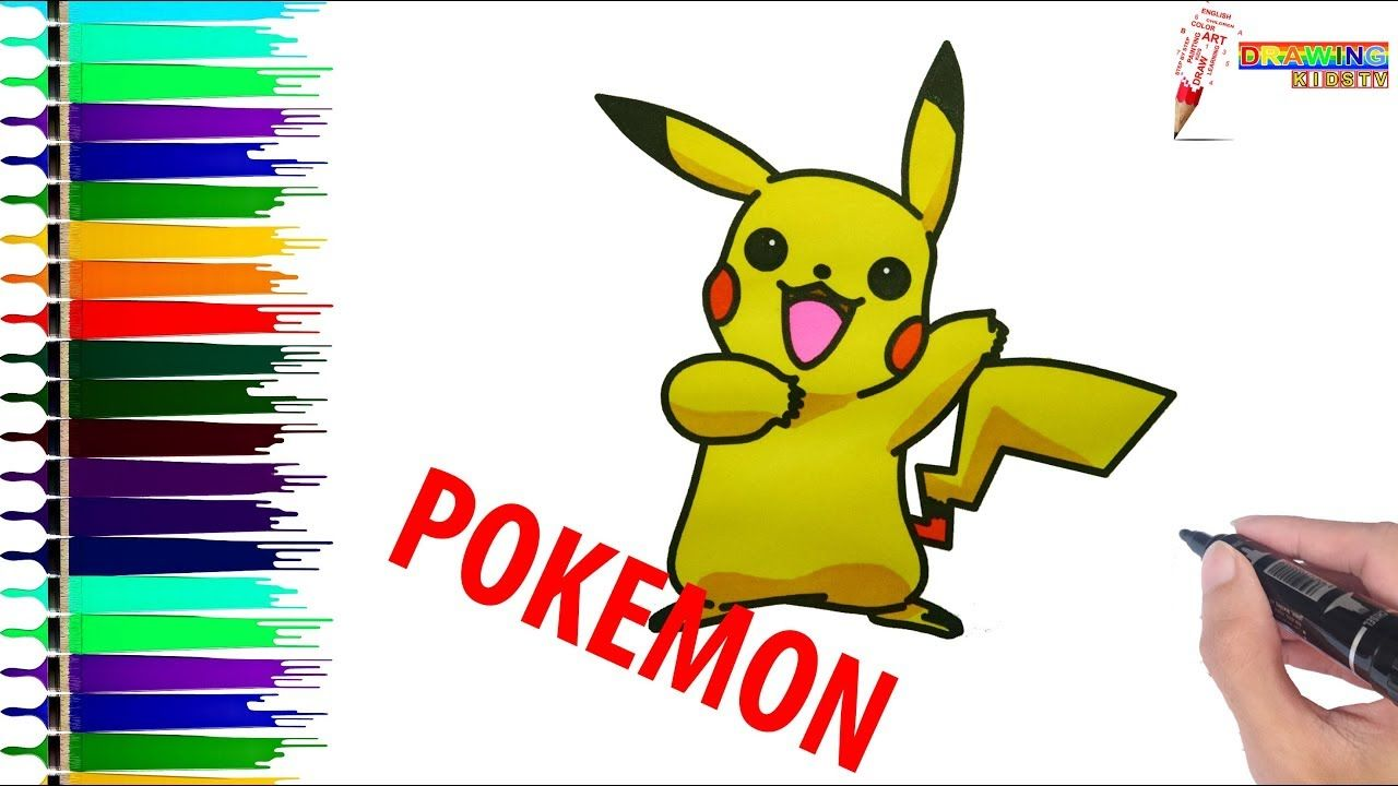 Coloring Book Page 9 How To Draw Pokemon For Children