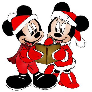 Disney Xmas Group Images Christmas Clip Art Images Mickey Mouse Disney Christmas Christmas Cartoon Characters