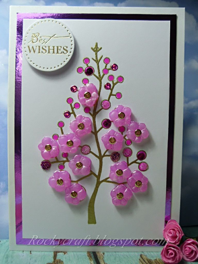 Rocky's Crafting Blog: A Tree Is Not Just For Christmas