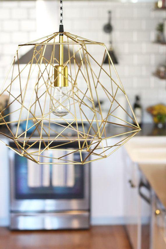 restoration industrial pendant lighting. Handmade Pendant Light Chandelier Edison Restoration Industrial Style Cage Diamond Lighting R