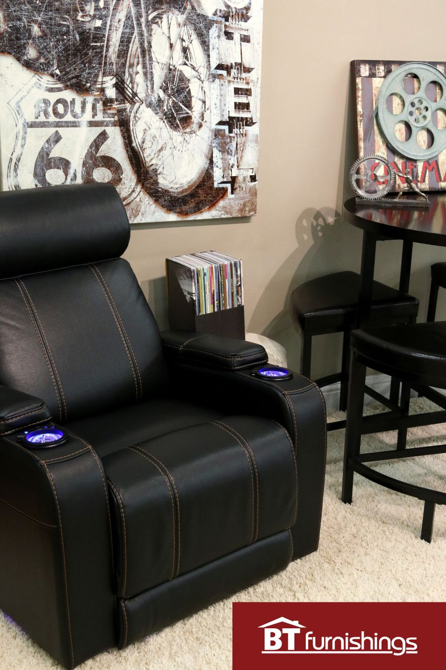 Transform Your Man Cave Decor And Comfortable Recliners In Stock
