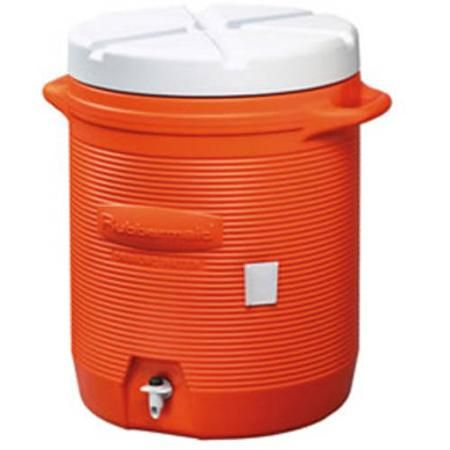 Rubbermaid 10 Gallon Water Cooler Orange Walmart Com Water Coolers Rubbermaid Orange Water
