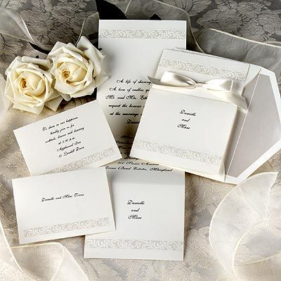 17 Best images about White Wedding Invitations – Invitation Cards for Weddings