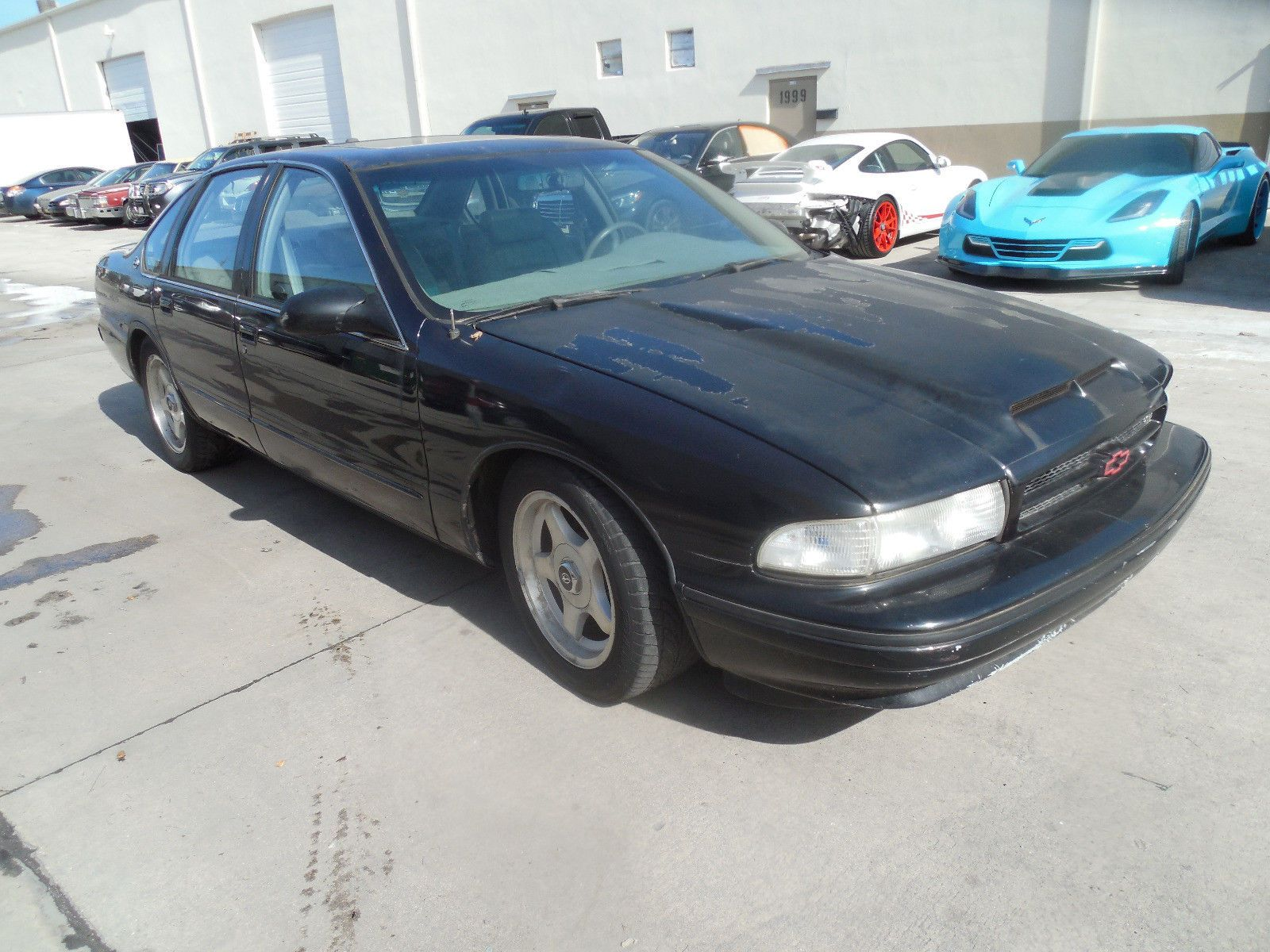 1996 Chevrolet Impala SS with no title