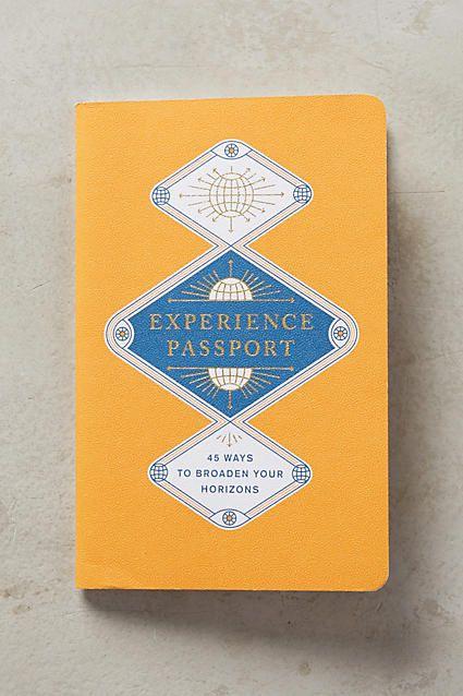 Experience Passport Journal World, Travel journals and Passport