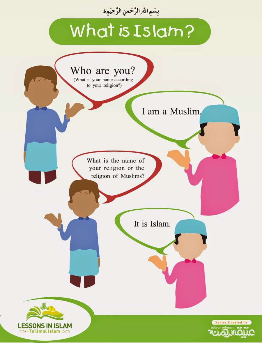 Lessons In Islam: What is Islam ? (Part 1) | What is islam ...