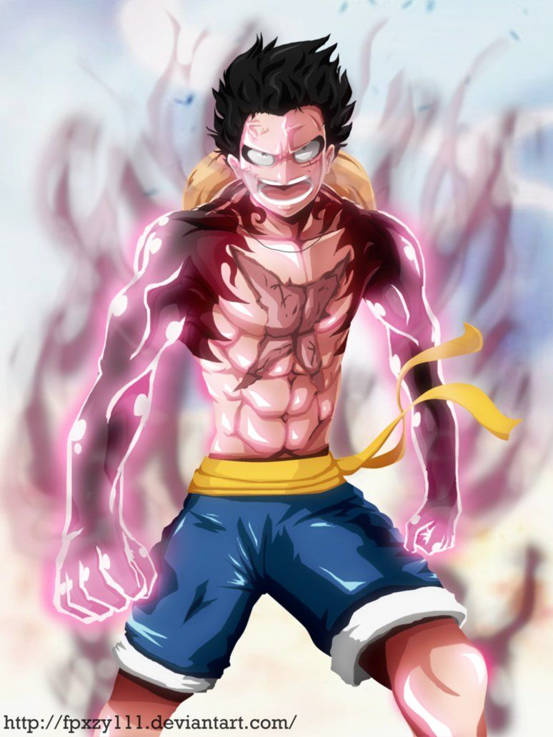 Monkey D Luffy Gear Fourth Slim Version By Fpxzy111