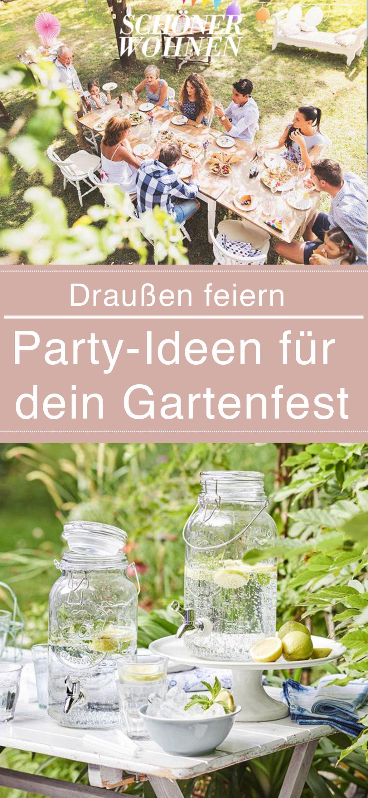 Infused Water Und Limonade Als Alkoholfreie Getranke Bild 2 Gartenparty Garten Party