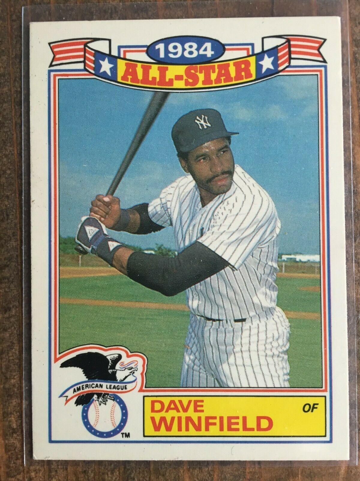 1985 topps baseball cards list