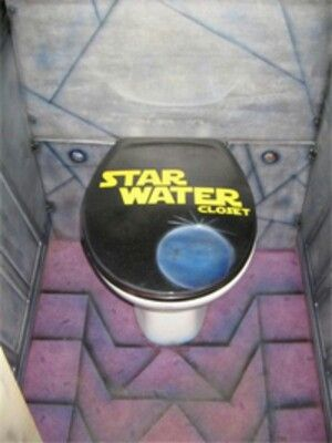 Stars war toilet