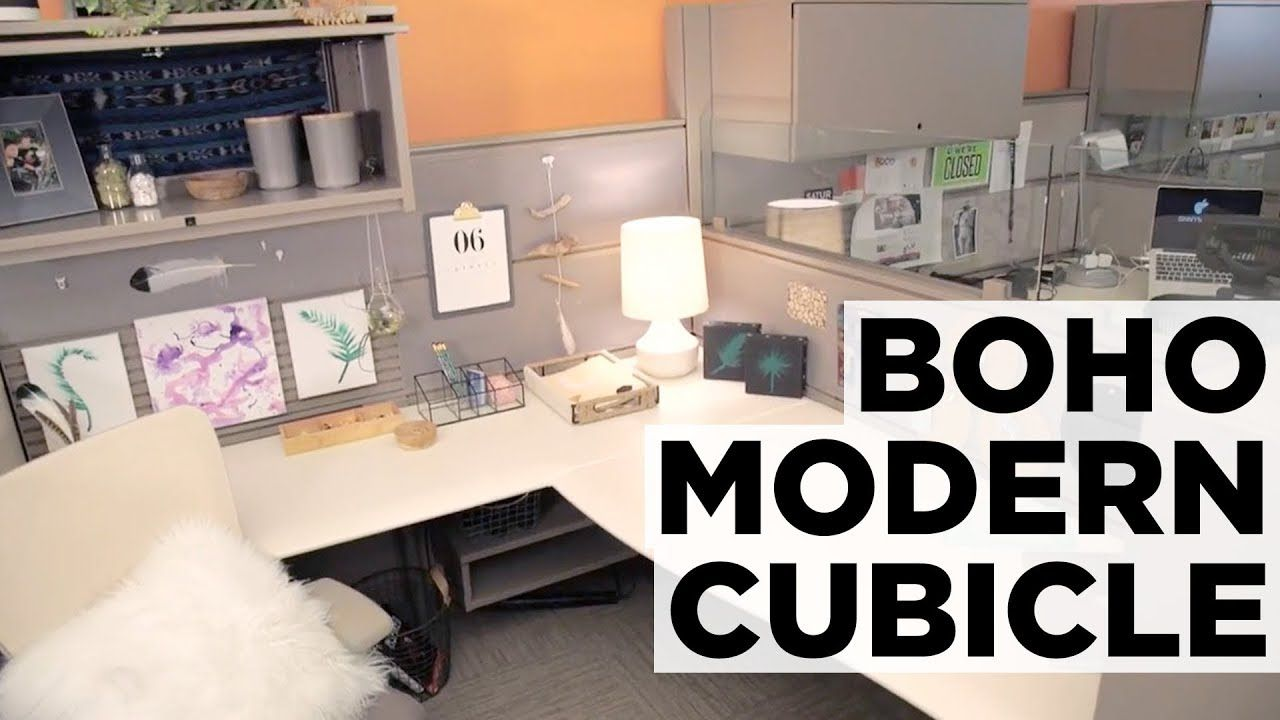 Nature Inspired Cubicle Makeover Hgtv Cubicle Makeover Chic Cubicle Decor Cubicle Decor