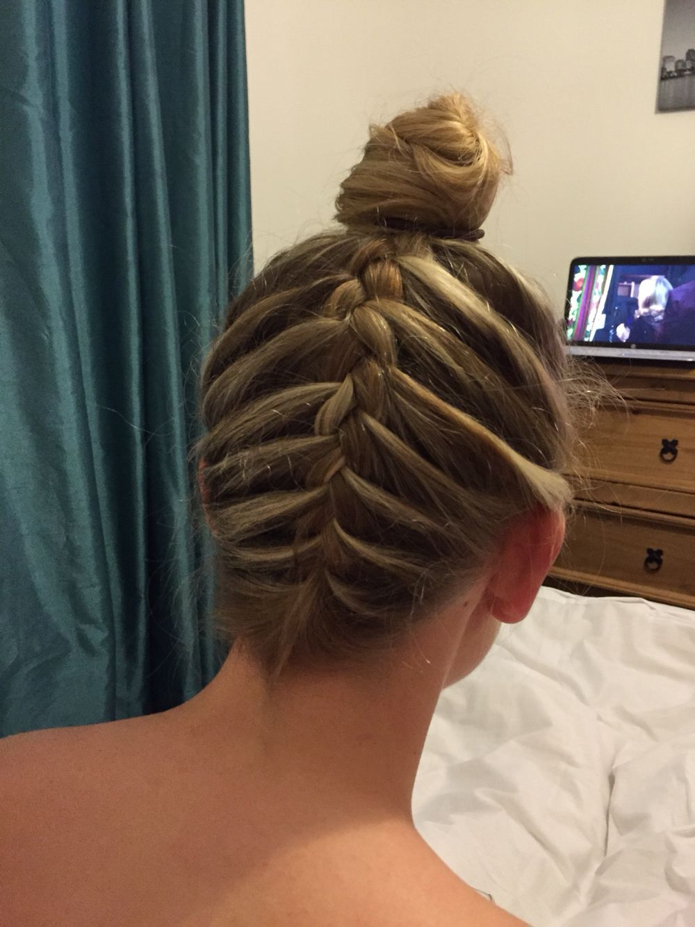 Upside Down Scalp Plait Braided Hairstyles Easy Easy