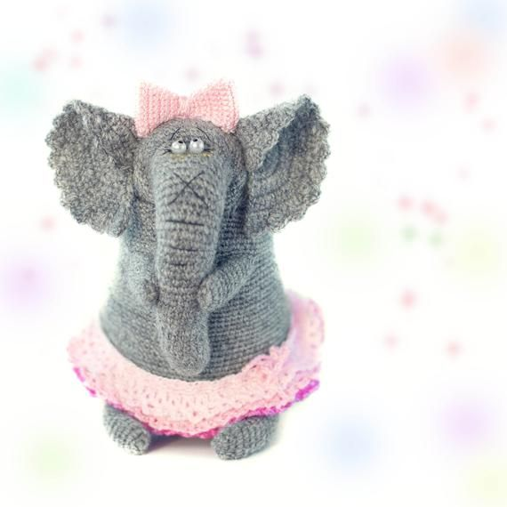 Pattern crochet elephant doll patterns amigurumi Elephant pattern crochet toy animals pattern crochet amigurumi stuffed toy easter gift #crochetelephantpattern