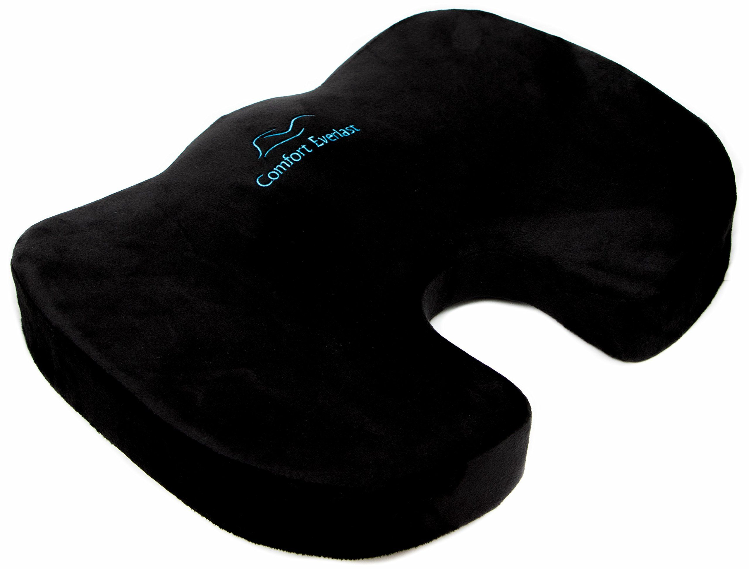 Coccyx Orthopedic Memory Foam Seat Cushion Leading Choice for