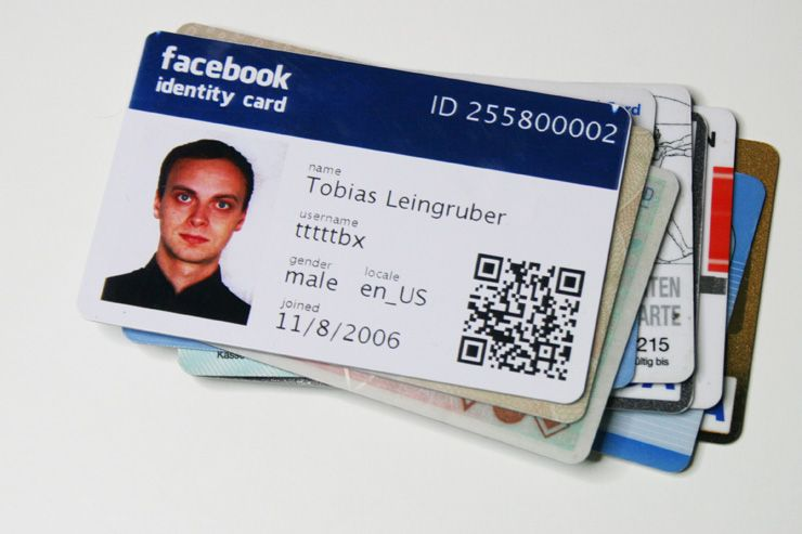 Create Your Facebook Id Card Here Its Free  Ideas For The House