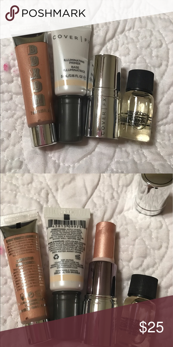 High End Minis Bundle | Smashbox photo finish primer, Cover fx and ...