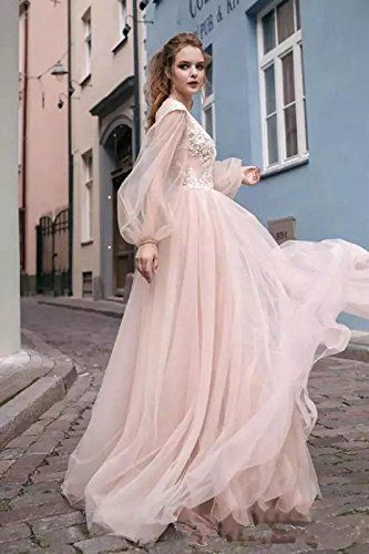Auxico Strand Hochzeitskleider Sexy Durchsichtig Bohemian Appliques ...