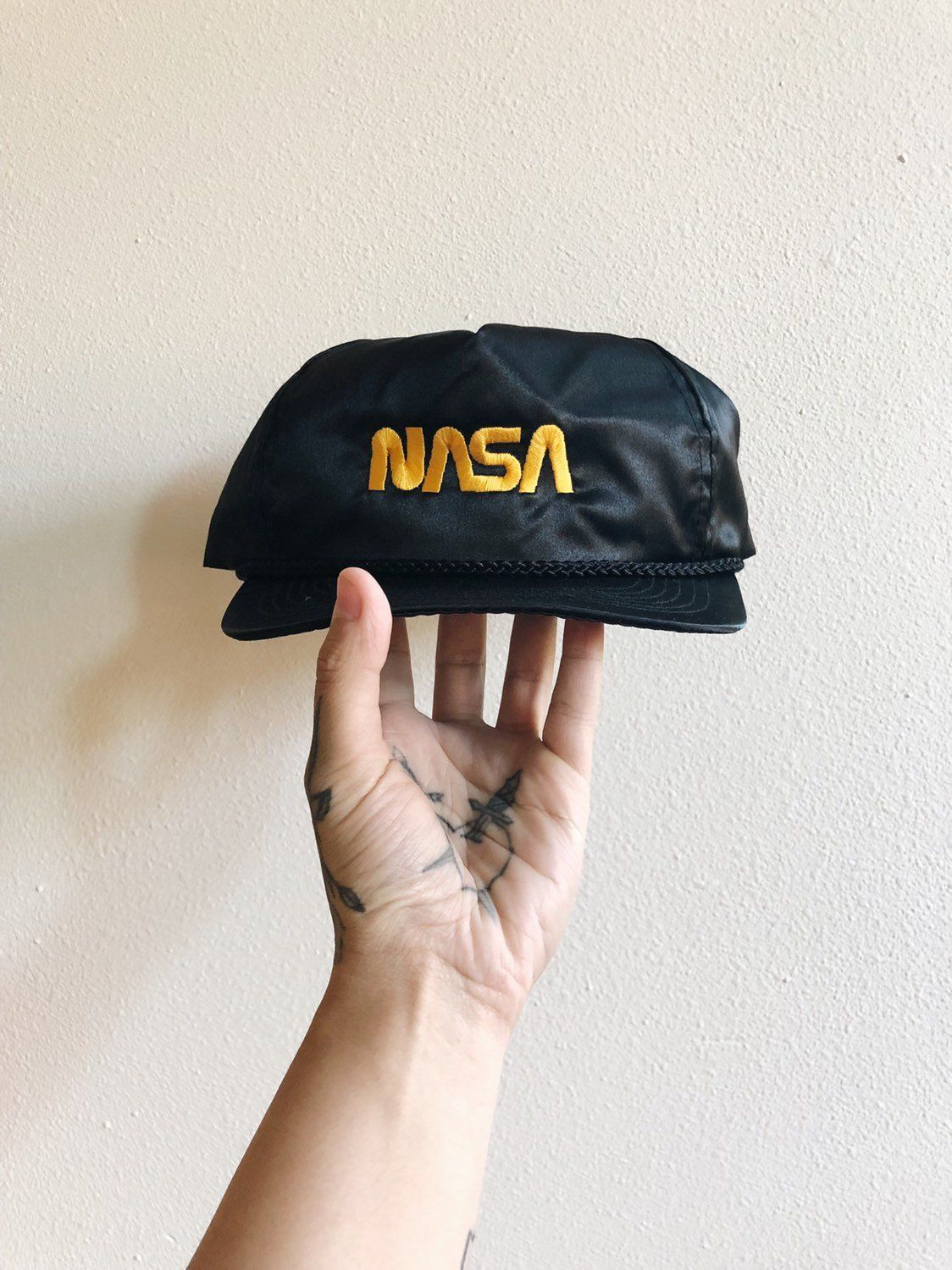 Excited to share the latest addition to my  etsy shop  NASA Hat VTG 80s 1f86dbdac